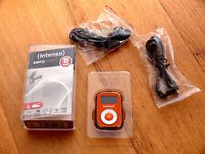 MP3 Player Intenso Music Mover, orange, inkl. Zubehörpaket 8GB microSD-Card