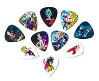 Dragon Ball Z Guitar Picks(10 medium picks in a packet)[0.71mm]