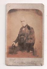 Vintage CDV Thomas Babington Macaulay 1st Baron Macaulay  Whig politician