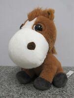 DUKE THE HORSE BIG HEADZ CO-OP FARMYARD FRIENDS PONY SOFT TOY
