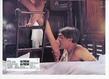 DUSTIN HOFFMAN SEXY STEFANIA SANDRELLI ALFREDO ALFREDO 1972 LOBBY CARD #4 LEGGY