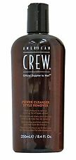 American CREW Power Cleanser stile Remover DAILY SHAMPOO 250ML