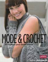 Livre Mode & crochet Phildar Marie Claire