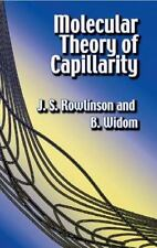 Molecular Theory of Capillarity Dover Books on Chemistry