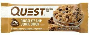 Quest Nutrition Chocolate Chip Cookie Dough Protein Bar - 12 Bars