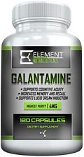 GALANTAMINE (120ct x 4mg) Element Nutraceuticals