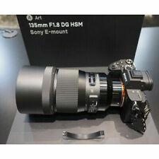 Objetivos f/1, 8 135mm para cámaras