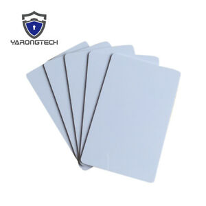 NFC Card NTAG213 NTAG216 PVC White Card Work with All NFC Functional Phone - 100