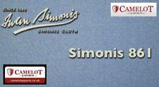 Strachan by Simonis 861 Powder Blue Pool Cloth 7x4 Bed & Cushions (IPA Cloth)