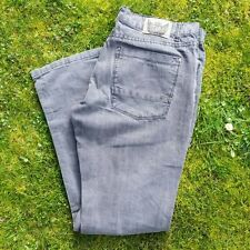 "MEN VOYAGER DENIM JEANS GREY STRAIGHT CUT WAIST 34"" 86 cm REGULAR LEG 31"" VGC"