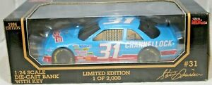 Racing Champions 1:24 1994 Diecast Car BANK #31 Steve Grissom Channellock Chevy