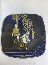 Arabia Finland Kalevala Annual Plate - 1990