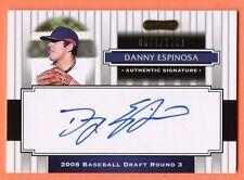 Danny Espinosa RC Auto 2008 Razor Signature Series Rookie Autograph SP/1499 Nats