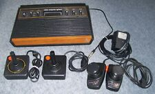 Atari VCS Woody 2600 Games Console + 2 x CX-10 Joysticks Sunnyvale Light Sixer