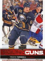12/13 UPPER DECK YOUNG GUNS ROOKIE RC #207 TRAVIS TURNBULL SABRES *43285