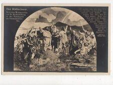 Der Ruetlischwur Vintage RP Postcard Switzerland 391a