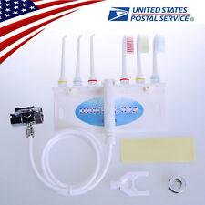 Oral Irrigator Gum Dental SPA Water Jet Flosser Teeth Clean Floss Set Faucet Tap