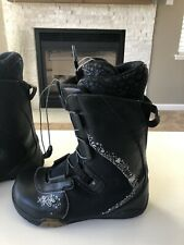 Ride Sage Women's Snowboard Boots Black Size Us 8 Women's