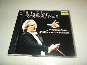 MAHLER : SYMPHONY NO.9   ZANDER   PHILHARMONIA ORCHESTRA  DOUBLE CD