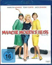 Blu-ray MANCHE MÖGEN'S HEISS # Jack Lemmon, Tony Curtis, Marilyn Monroe ++NEU