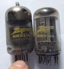 Zenith 1710/17AB10 + 10IT8 valvole tubo TV/audio tube valvles.