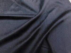 BLACK SILK FABRIC - THICK AND VERY SOFT