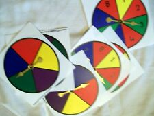 Cuisenaire Company of America Inc ~ 3 Number Spinners & 3 Color Spinners