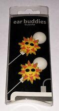 Sun Sunshine Earphone Charm - Earbud Cord Charm - Ear Buddies New in package