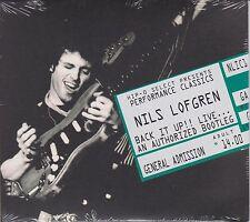 Back It Up Live Authorized Bootleg by Nils Lofgren (2007 Ltd Ed Hip-O Select CD)