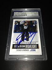Steven Stamkos Signed 2011-12 Score Lightning Card PSA Slabbed #83429653