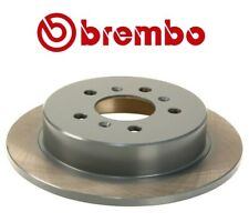 Rear Left or Right Disc Brake Rotor 278 mm Premium Coated Brembo For Buick Chevy