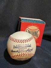 Stunning 1949-1951 Spalding International League Baseball with Original Box