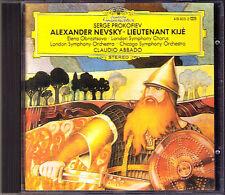 Claudio ABBADO: PROKOFIEV Alexander Nevsky & Lieutenant Kije CD Elena Obraztsova