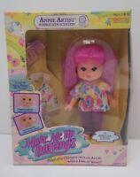 NIB Vtg Hasbro Make Me Up Darlings Annie Artist RARE toy doll in sealed box