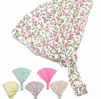 Girls/Kids Floral Print Hairband Headband Children Bandanas Headscarf-UK SELLER