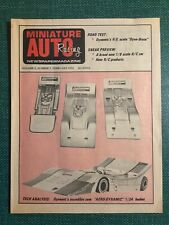 New ListingVintage Miniature Auto Racing Newspaper Magazine February 1972 Marker Delta Gene