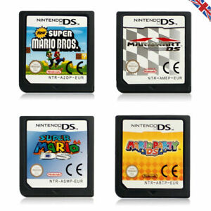 Mario Kart/Super Mario Bros/64/Party Game Card For Nintendo DS DSi 3DS XL LL NDS