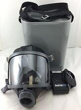 Scott/SEA Domestic Prep Gas Mask w/ SmallTalk ST2 Voice Amplifier & carry Case