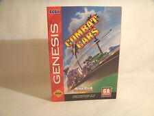 Combat Cars -Sega Genesis Art Work Sleeve Only! *original Sega*