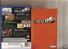 FREAK OUT PLAYSTATION 2 PS2 raro unico gioco PS 2