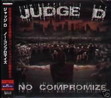 Judge D - NO COMPROMIZE - Japan CD+1BONUS - NEW