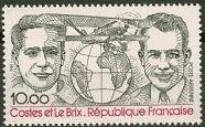 """FRANCE TIMBRE STAMP AVION N°55 """"DIEUDONNE COSTES ET JOSEPH LE BRIX"""" NEUF XX TTB"""