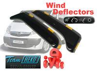 Wind deflectors Opel VAUXHALL Vivaro  2001 - 2014   2.pc  HEKO  25309