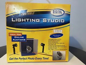 Professional Photos Lighting Studio Portable Digital Concepts Carry Case #PS-103