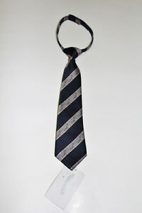 Gymboree Dressed UP Navy Blue Pink Stripe Velcro Necktie NWT Size 0-24 Months