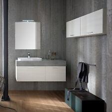 B201 82 Life – Mobile arredo bagno design L 121+140 cm personalizzabile COMPAB