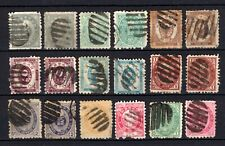 Japan selection of 18 Koban stamps all with Tokyo Bota cancels