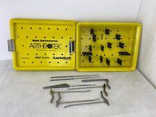 Biomet Arthrotek Meniscus Screw Instrument Set 905765 Meniscal Cannulas Rasp