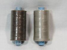Vintage 100% Silk Thread Taupe Brown Beige Gutermann NOS 328 Yards / 1094 Yards