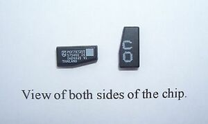 VAUXHALL COMPATIBLE CRYPTOGRAPHIC ID40 TRANSPONDER CHIPS X2